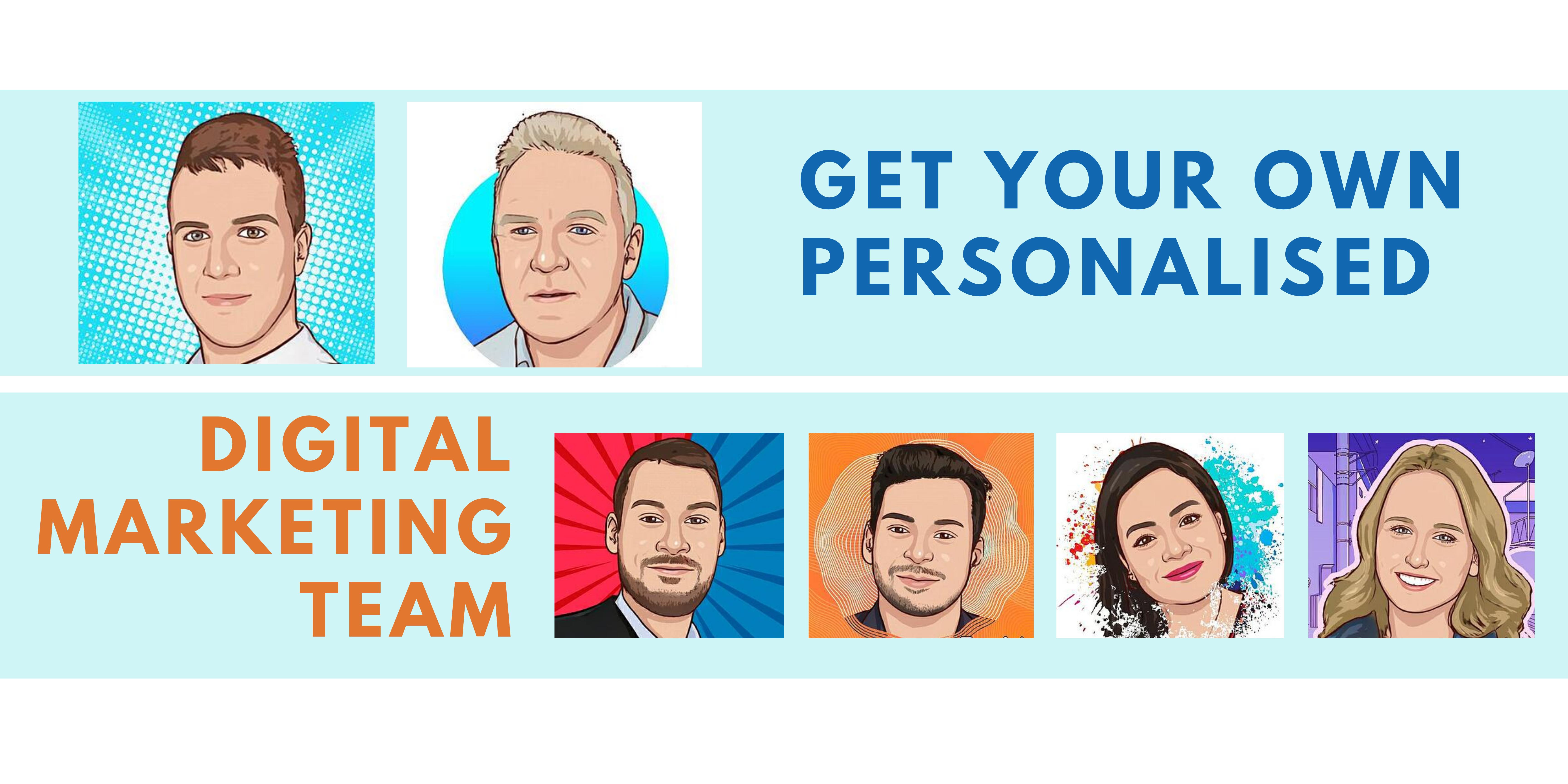 Personalized Digital Marketing Team